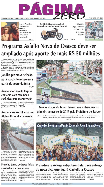 6f8aac6e59 Página Zero Edição nº 1366 (19 10 2018) by Para acessar o seu Página Zero -  issuu