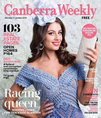 ba65b947e4602 16 August 2018 by Canberra Weekly Magazine - issuu