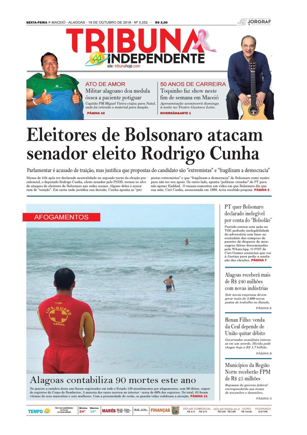 bd27f3308e Edição número 3252 - 19 de outubro de 2018 by Tribuna Hoje - issuu