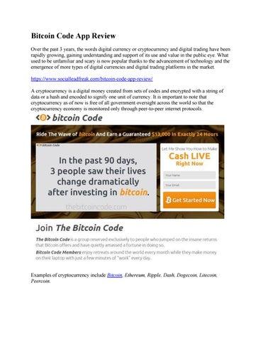 bitcoin market code