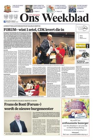 Spiegeltje Baarle Hertog.Ons Weekblad 19 10 2018 By Uitgeverij Em De Jong Issuu