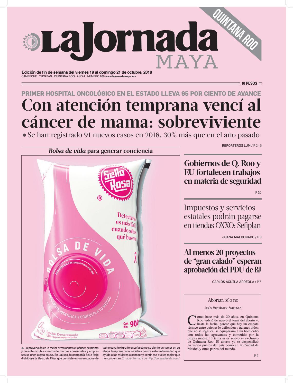 La Jornada Maya · Viernes 19 de octubre de 2018 by La Jornada Maya - issuu