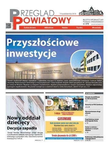 Przegląd Powiatowy Nr 278 Październik 2018 By Starostwo