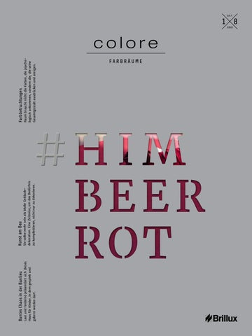 colore 18 – Himbeerrot by Brillux - issuu