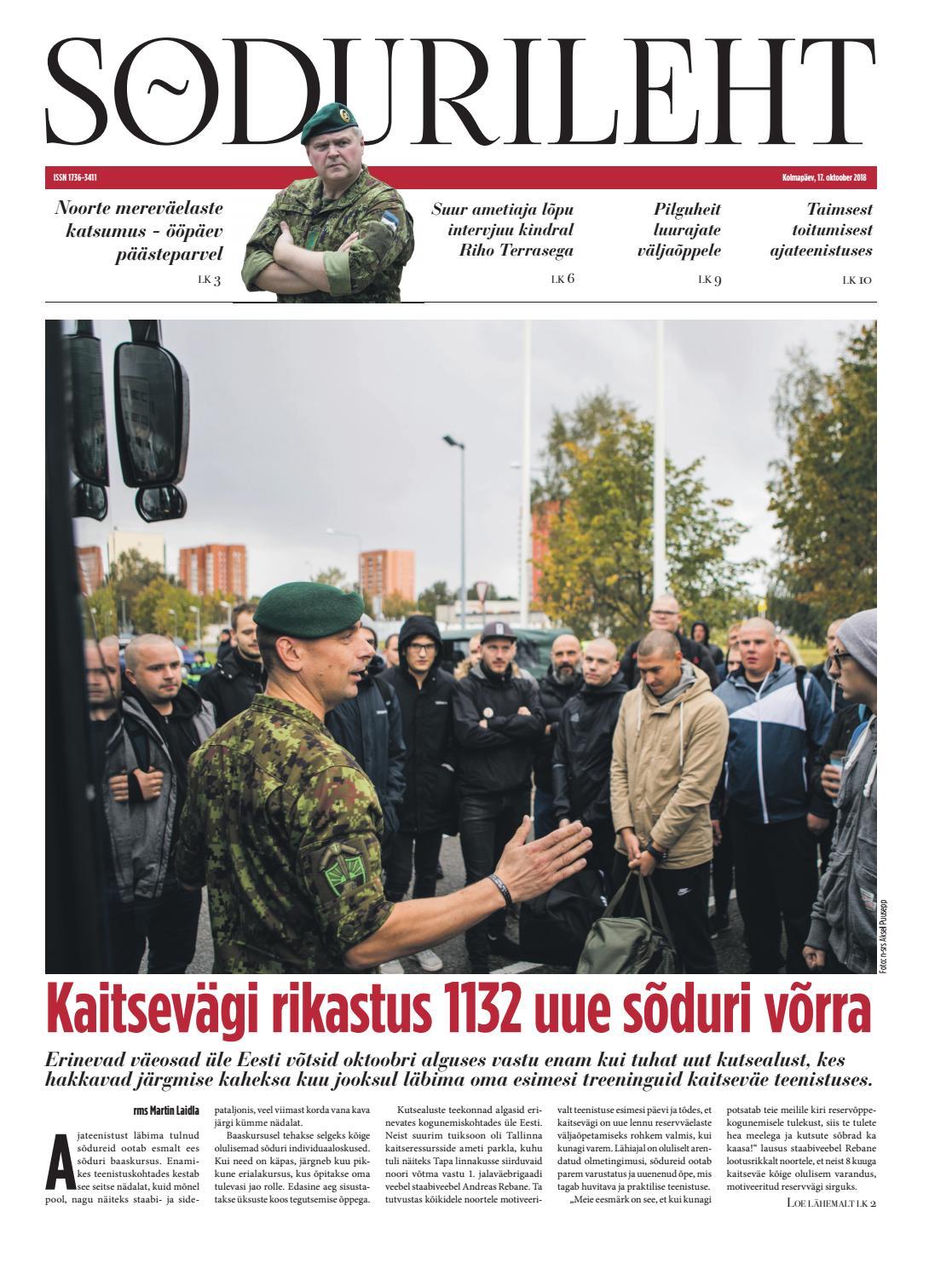 cfa95c10837 17.10.2018 by Sõdurileht - issuu