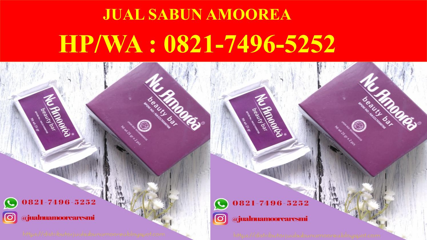 Stokis Amoorea Purwokerto 0821 7496 5252telp Wa By Agen Amoera Sabun Jual Issuu