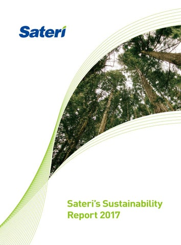 Sateri Sustainability Report 2017 by RGE (Royal Golden Eagle