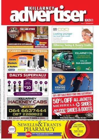 Killarney Advertiser Friday 19th October, 2018 by Killarney