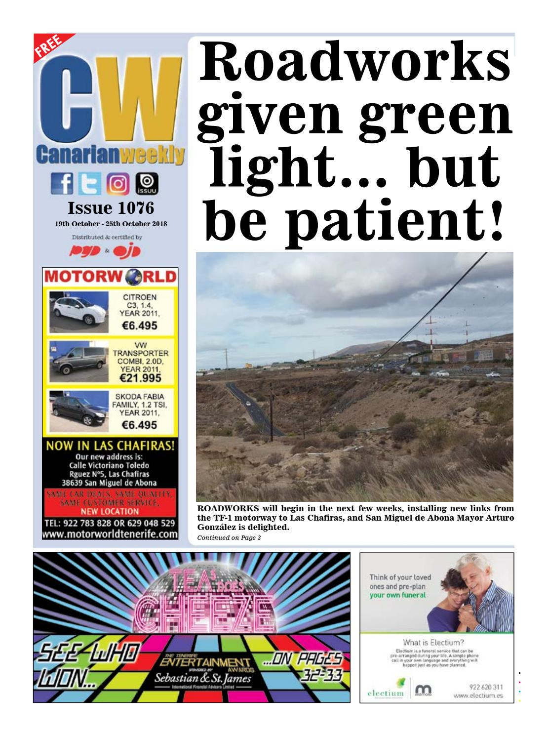 CW issue 1076 by Canarian Weekly - issuu