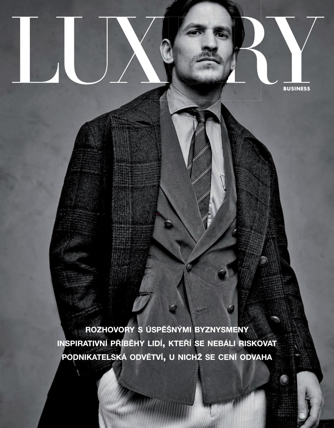 2f45894856f Luxury Business 2018 by LuxuryGuideCZ - issuu