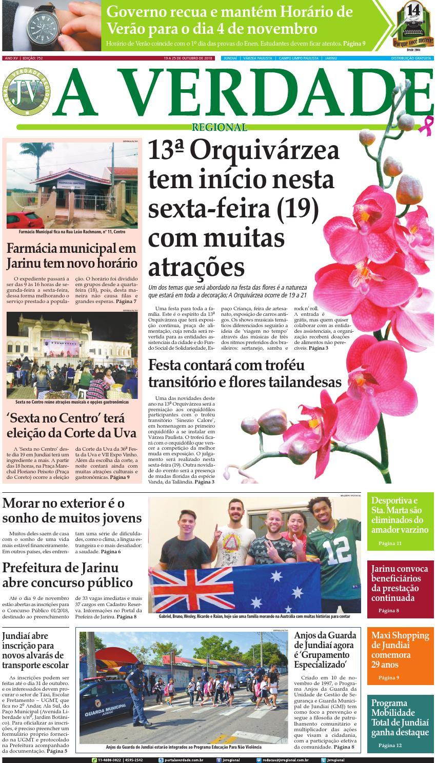 JV Regional ® - Edição 752 by Jornal A Verdade Regional - issuu 138904d58897