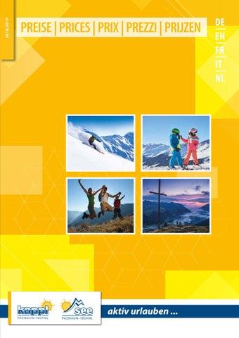 Vermieterverzeichnis Kappl See 2018 2019 By Tourismusverband Paznaun