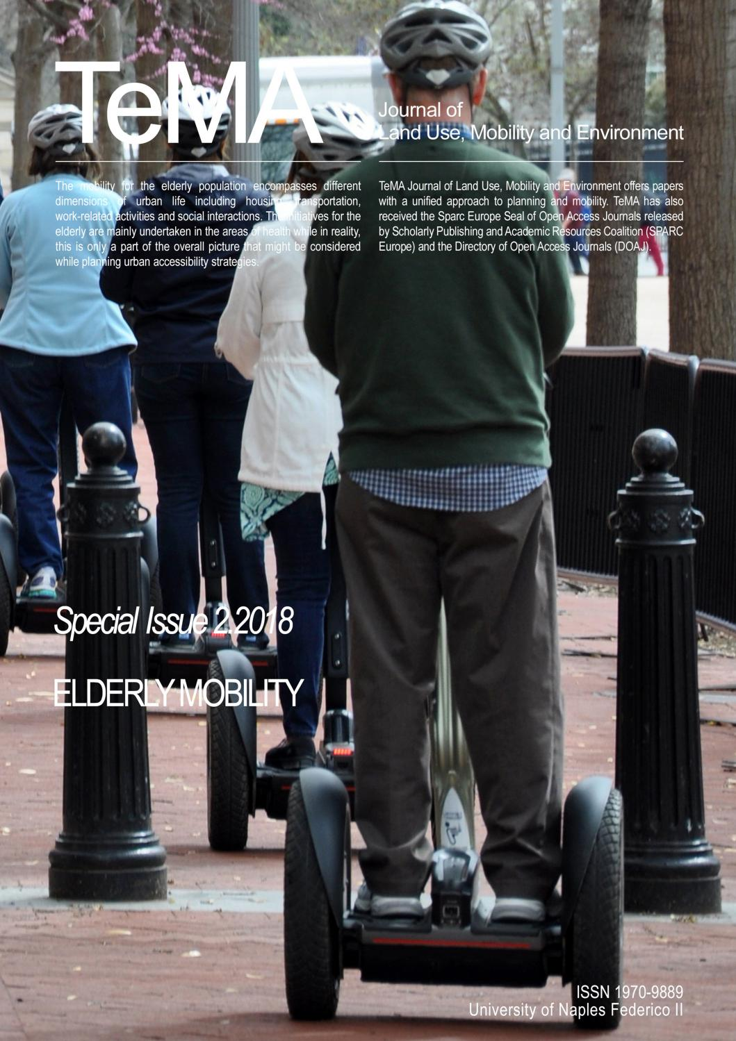 Special Issue 2 2018: Elderly Mobility by Rocco Papa - issuu