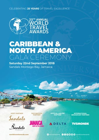065b0616ac World Travel Awards Caribbean   North America Gala Ceremony 2018 by ...