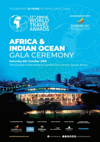 World Travel Awards Africa Indian Ocean Gala Ceremony 2018 By