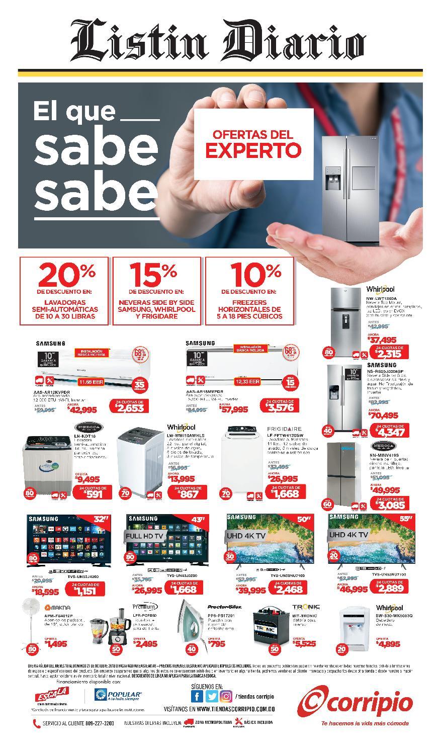 new styles 5c20f 80861 LD 19-10-2018 by Listín Diario - issuu