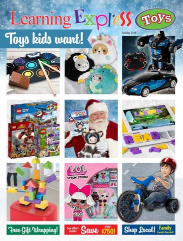Learning Express Toys November December 2018 Catalog By Learning