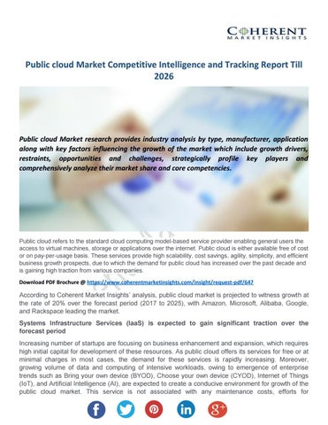 Public Cloud Market Survey - Global Industry Share e1a1c05caa0