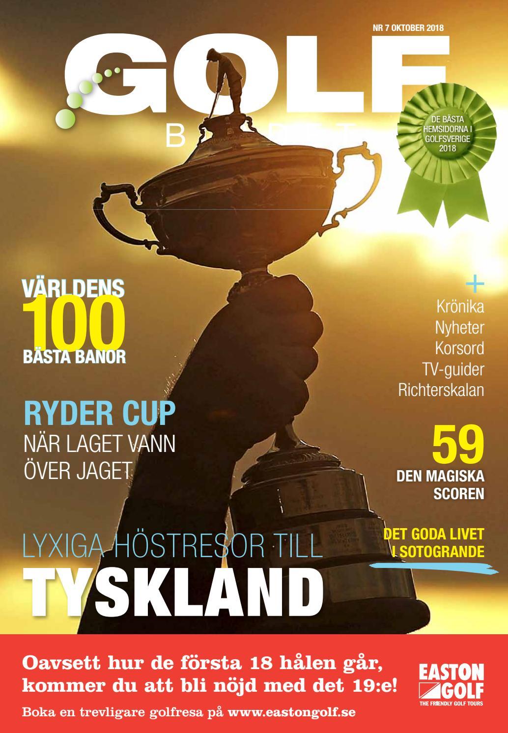 new styles 95842 1956c Golfbladet 2018-7 by Fredrik Richter - issuu