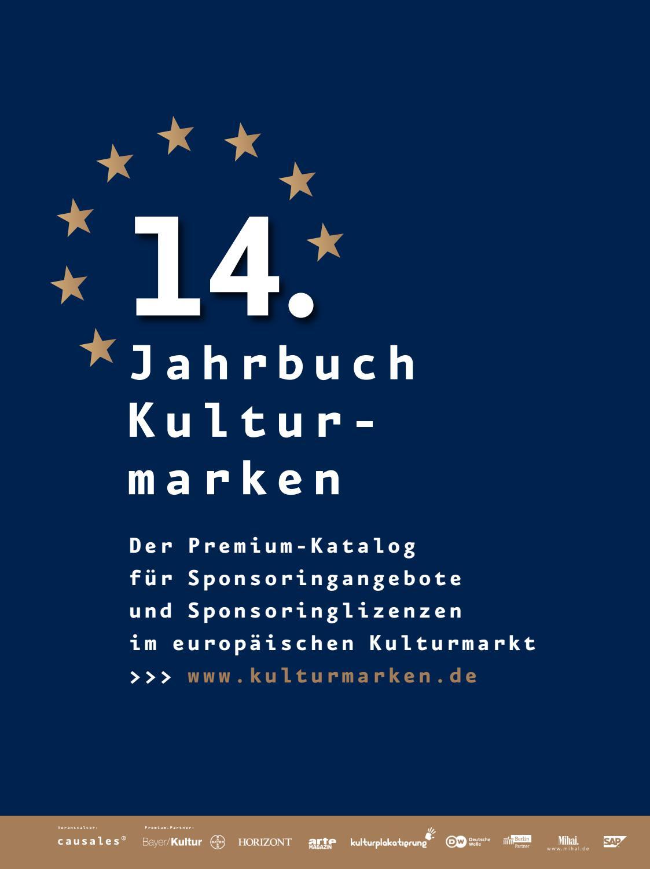 7d8500a1f1eeb5 Jahrbuch Kulturmarken 2019 by causales - Gesellschaft für Kulturmarketing  und Kultursponsoring mbH - issuu