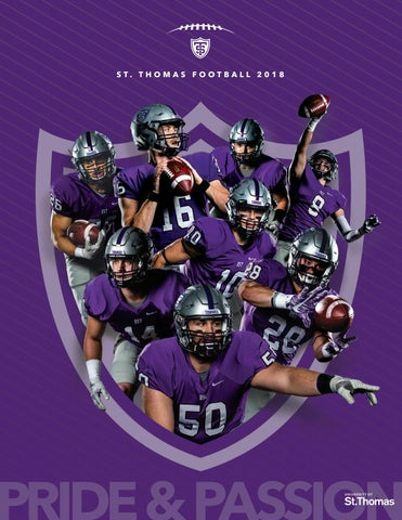 634ec90567a 2018 Football Media Guide by University of St. Thomas - issuu