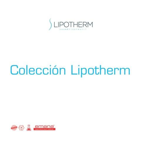 f7a227042bf Catálogo Lipotherm by Anaissa - issuu
