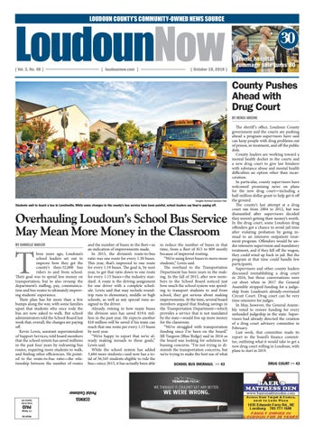 Loudoun Now for Oct. 18, 2018