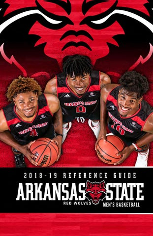 2018-19 Arkansas State Men s Basketball Reference Guide by Arkansas ... bef8fa541