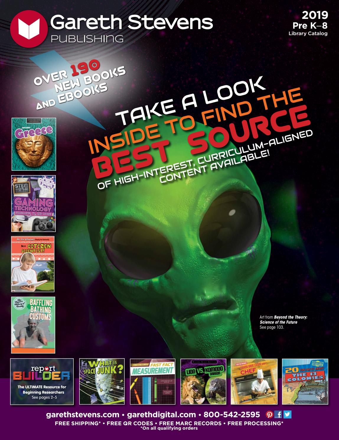 Gareth Stevens Full 2019 Catalog by Gareth Stevens - issuu