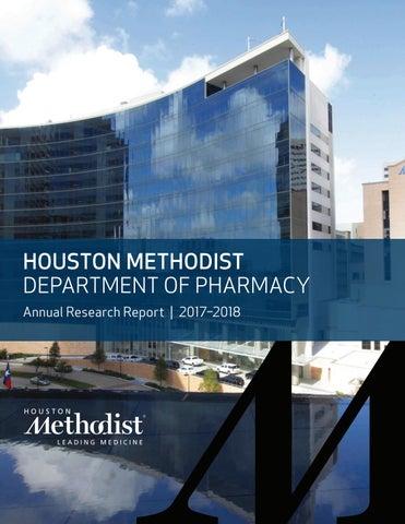 Houston Methodist Department of Pharmacy Annual Report 2017