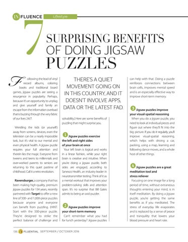 Page 136 of 7 Surprising Benefits of Doing Jigsaw Puzzles