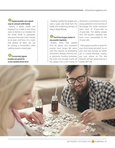 Page 137 of 7 Surprising Benefits of Doing Jigsaw Puzzles
