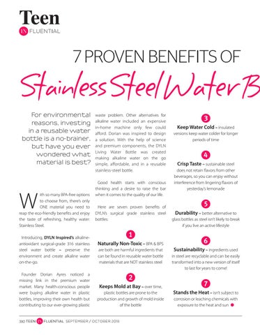 Page 380 of 7 Proven Benefits of Stainless Steel Water Bottle