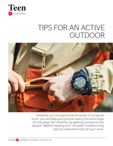 Page 382 of Tips for an Active Outdoor Fall Season