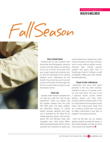 Page 383 of Tips for an Active Outdoor Fall Season
