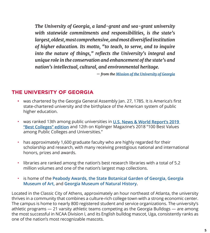 State Botanical Garden Of Georgia Map.Uga School Of Social Work Phd Program 2018 2019 By University Of