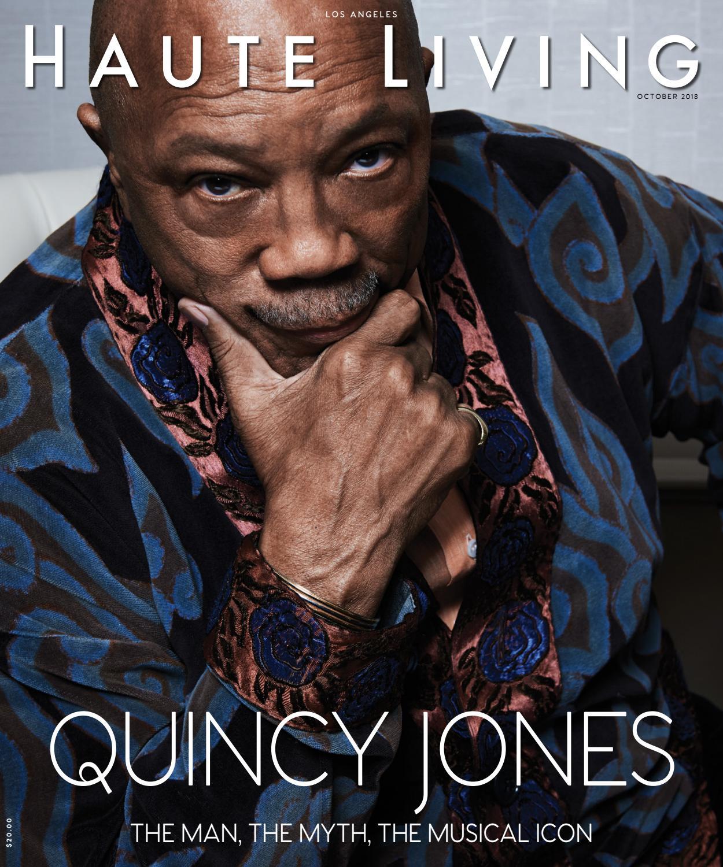 LA Quincy Jones October November 2018