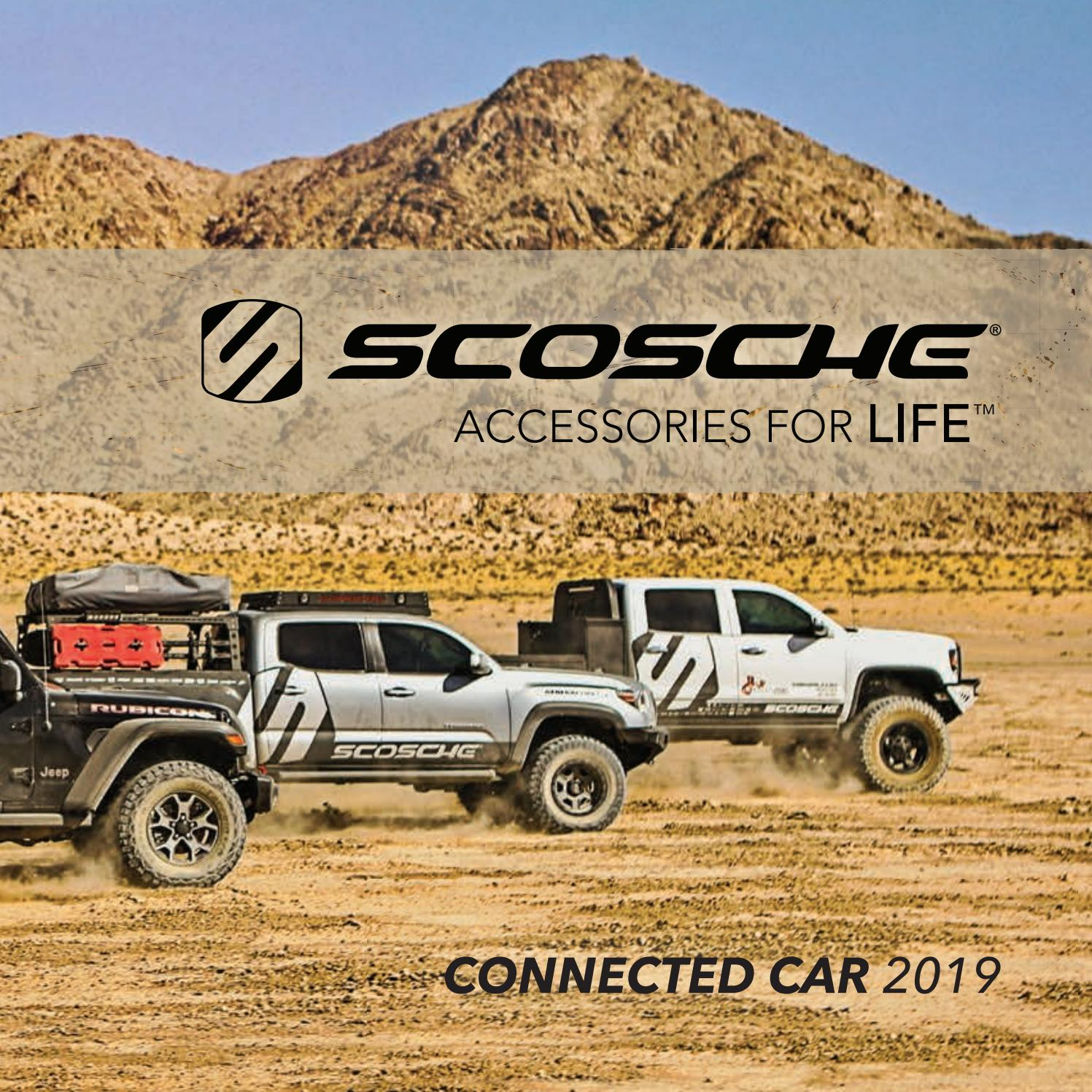 2019 Connected Car By Scosche Industries Issuu Gmda Wiring Harness Color Code