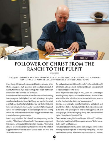 Page 32 of From The Ranch to The Pulpit