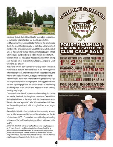 Page 33 of From The Ranch to The Pulpit