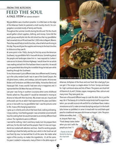 Page 34 of From The Kitchen - Feed The Soul