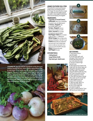 Page 35 of From The Kitchen - Feed The Soul