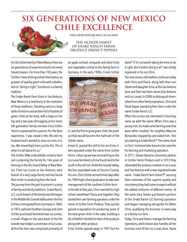 Page 4 of Six Generations of New Mexico Chile Excellence
