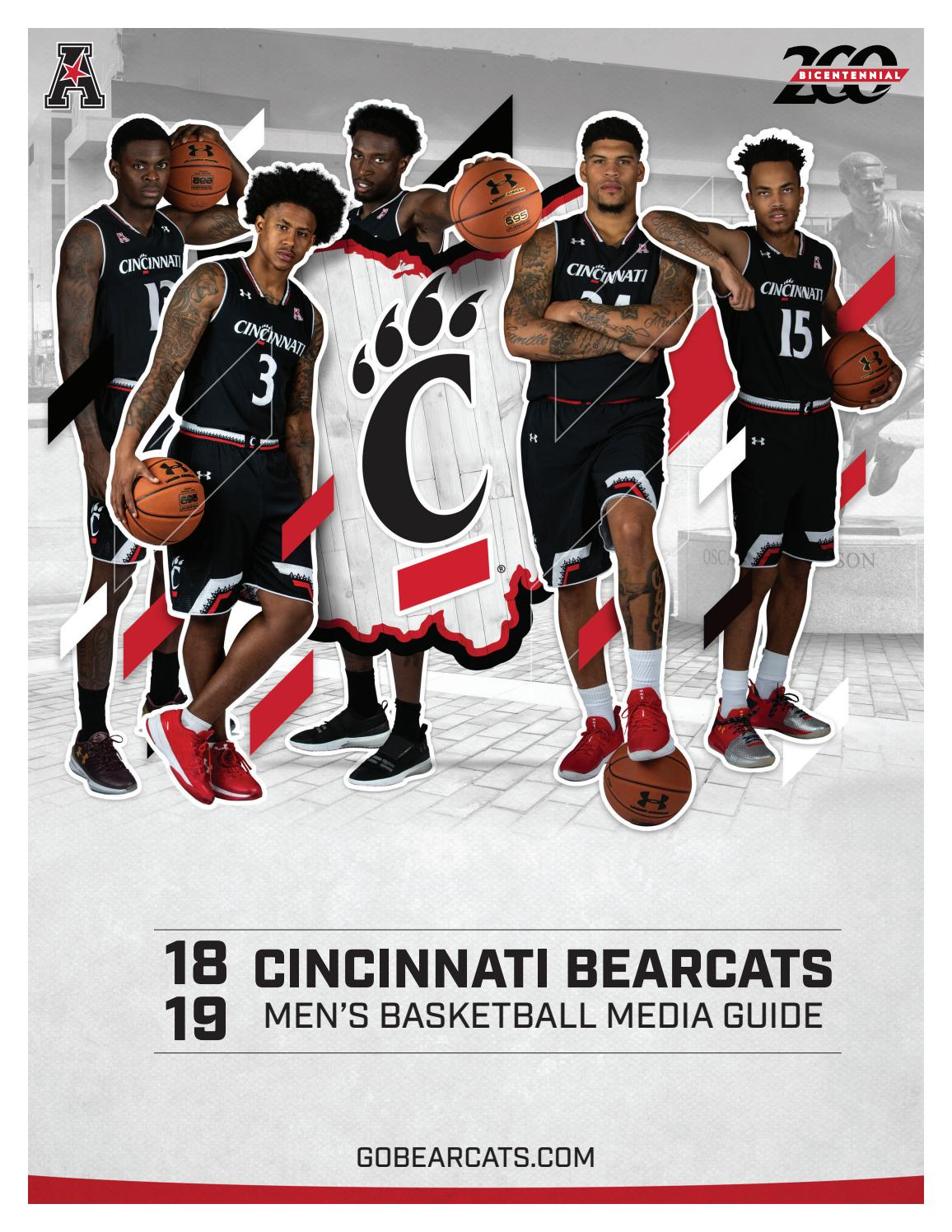 Keith Williams Cincinnati Bearcats Basketball Jersey-Black