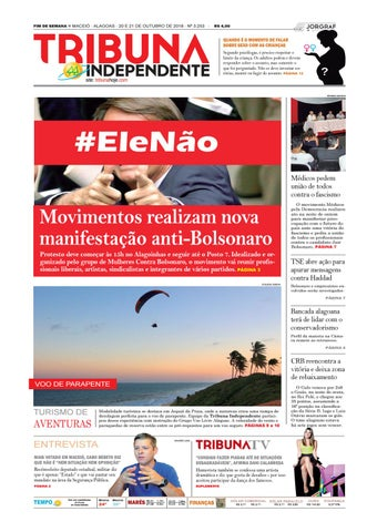 5fa21ef7b33ce Edição número 3253 - 20 e 21 de outubro de 2018 by Tribuna Hoje - issuu