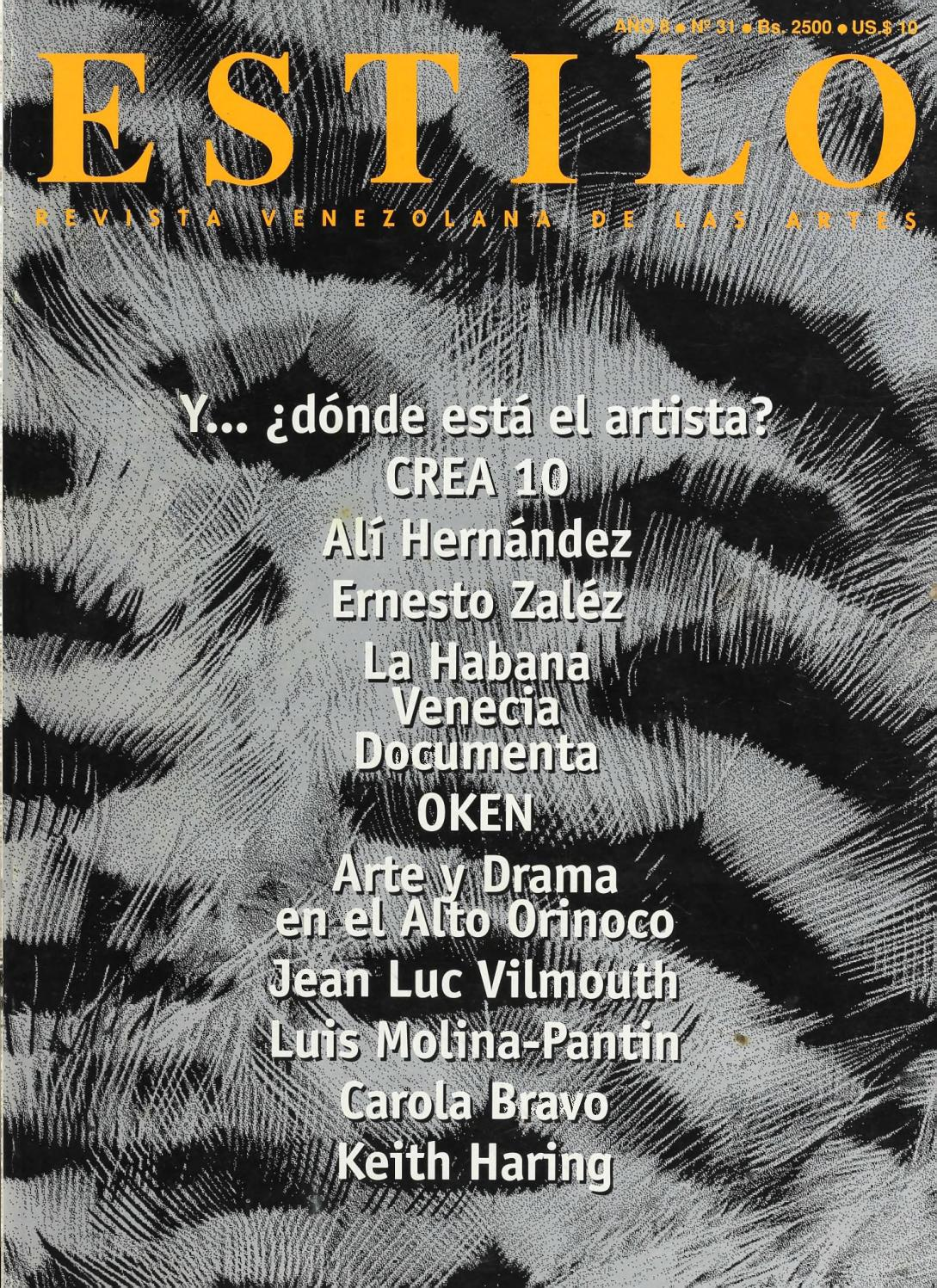 Estilo  32 by Fundación Cultural Estilo - issuu bf8d2c96755