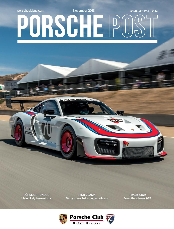 Arthur Bonnet Le Mans porsche post november 2018porsche club great britain - issuu