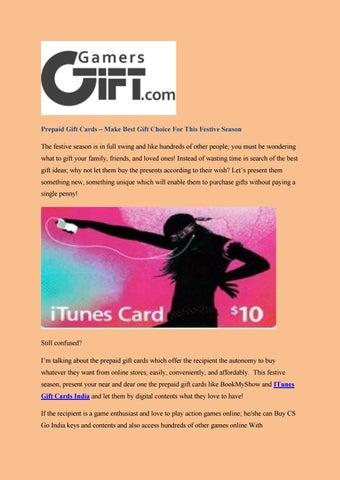 Prepaid Gift Cards – Make Best Gift Choice For This Festive Season