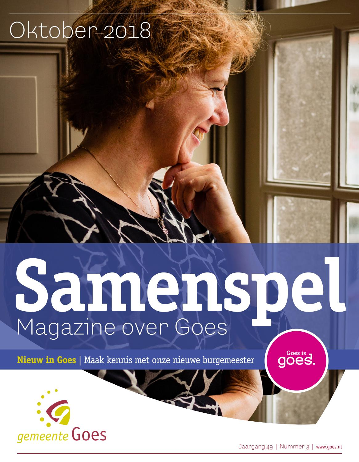 e9f38d26900 Samenspel Goes oktober 2018 by Seasight Media - issuu
