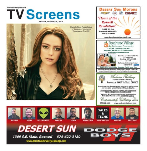 Screens 10 19 18 By Roswell Daily Record Issuu